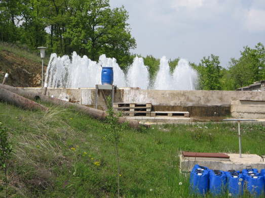 Inlet aeration at Badovc WTP - Kosovo